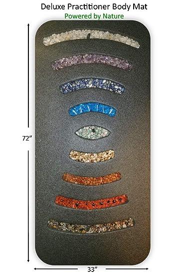 Amazon.com: Alfombrilla de chakra para meditación de cristal ...