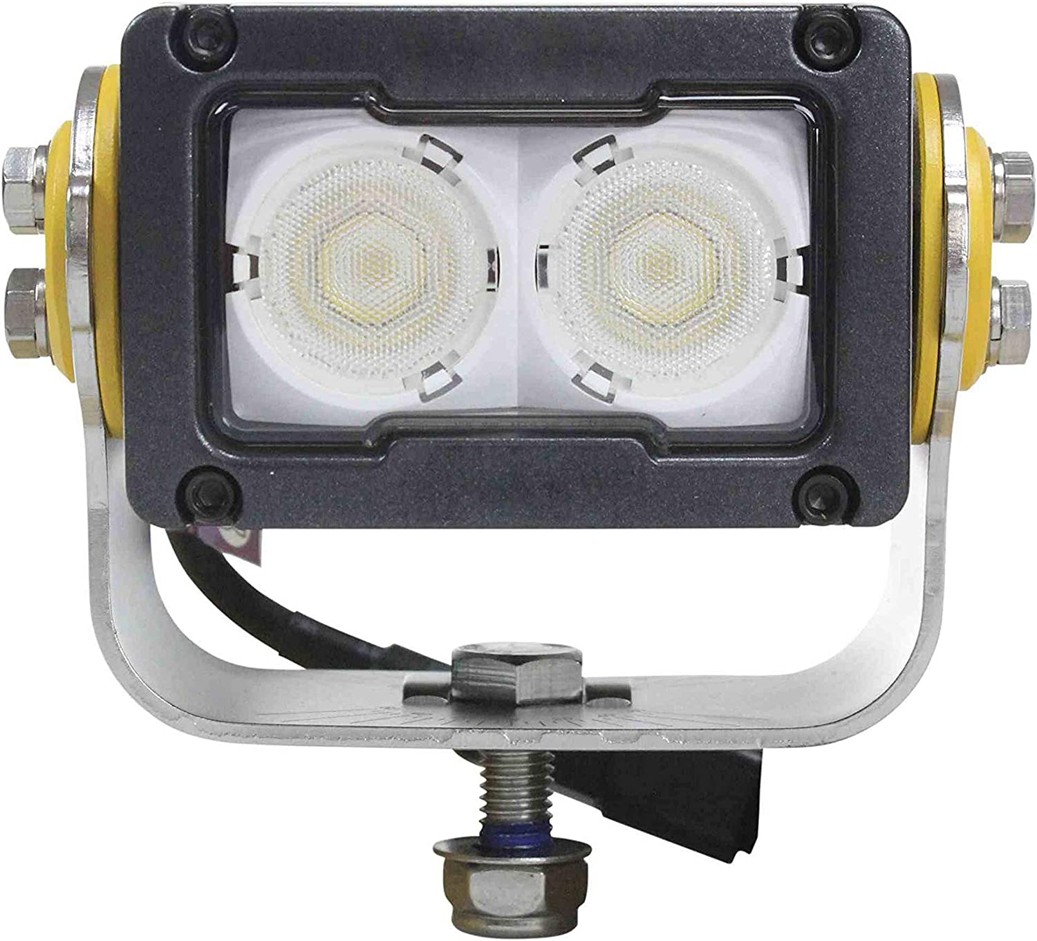 2 LEDs Degreed Aiming Soft Start LEDs 1 840 Lumens 20 Watt High Intensity LED Light