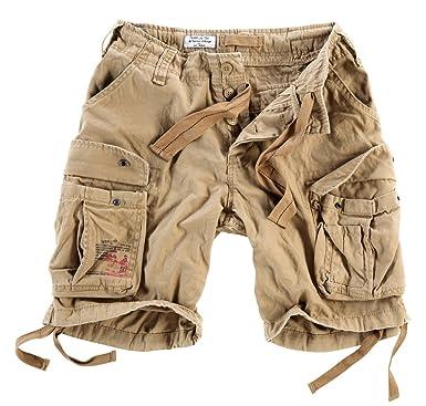 03d7df14b0 Delta Men's Airborne Vintage Cargo Shorts: Amazon.co.uk: Clothing