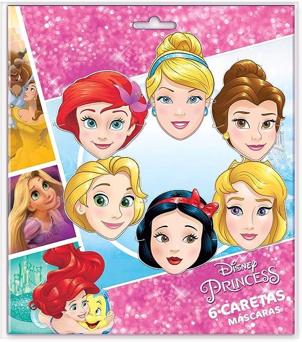 ALMACENESADAN 014000964, Pack 6 caretas Disney Princesas Adventure ...