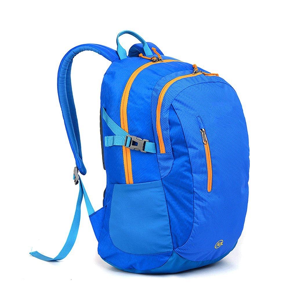 CKH アウトドアバックパック 30L ハイキングレジャー 登山バッグ 男女兼用 キャンプウェア 30 L バックパック ポセイドン ブルー B07J2XY31P