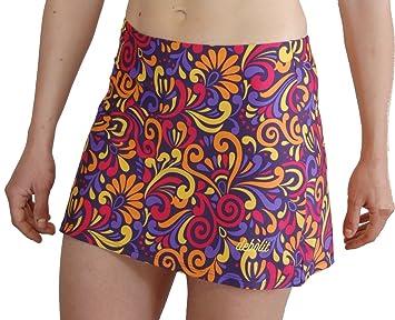 Faldas de Padel/Tenis con Pantalon. Estampada