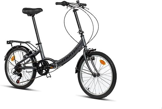 Moma Bikes First Class 2 GR Bicicleta Plegable Urbana, 6V. Sillin ...