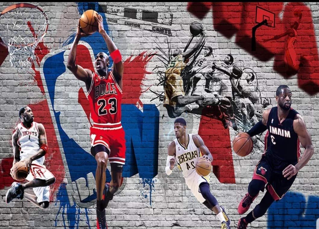 Amazon 壁紙 ウォールペーパー スポーツ バスケ バスケットボール