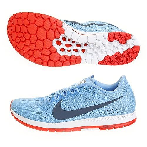 premium selection f89f9 0caad Nike Zoom Streak 6, Zapatillas de Running Unisex Adulto, Azul (Football  Blue Fox/Bright Crimson 446), 45 EU: Amazon.es: Zapatos y complementos