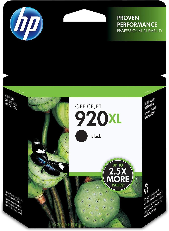 HP 920XL | Ink Cartridge | Black | CD975AN