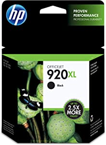 HP 920XL | Ink Cartridge | Black | CD975AN