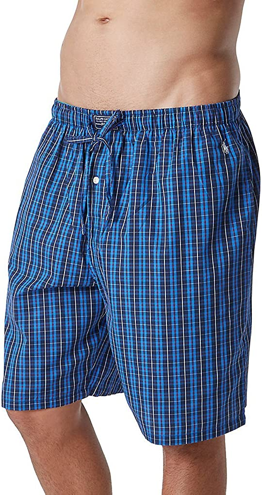 Polo Ralph Lauren 100% Cotton Woven Sleep Shorts (P739)