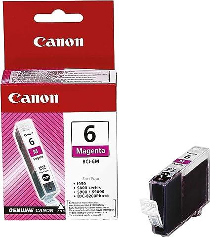 Canon Tintenpatrone Bci 6 M Magenta 15 Ml Original Für Tintenstrahldrucker Bürobedarf Schreibwaren