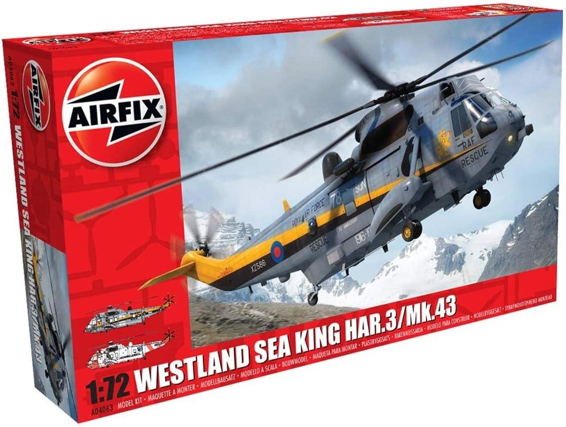 Westland Sea King RAF Search And Rescue Helicopter Aviation Art Print