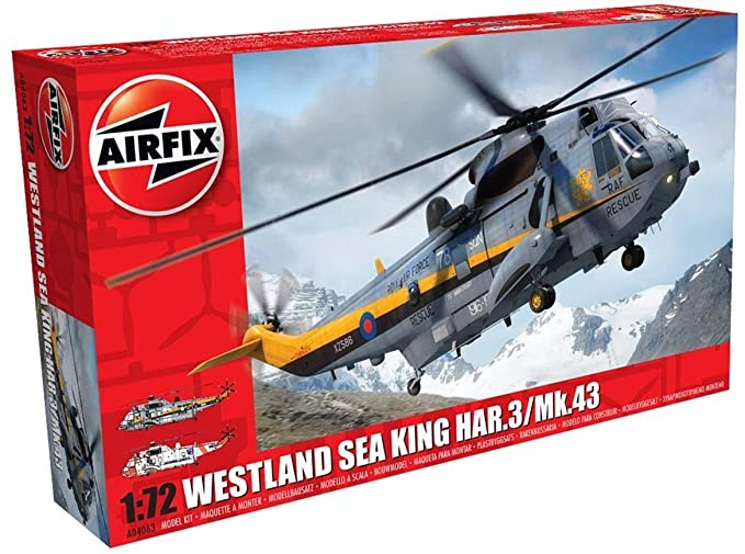 Amazon.com: Airfix Westland Sea King HAR.3/ MK 43 1:72 ...