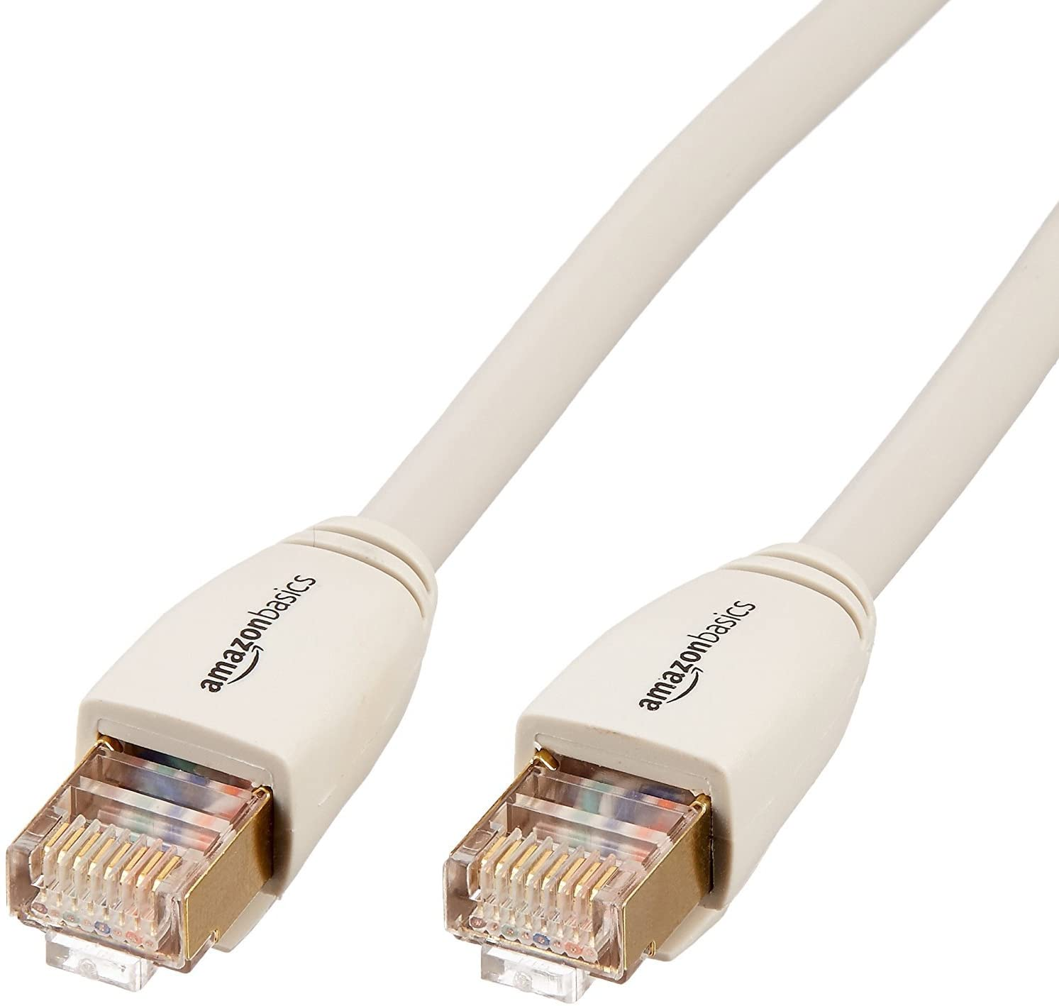 AmazonBasics RJ45 Cat7 Network Ethernet Patch Cable - 3-Foot, 5-Pack