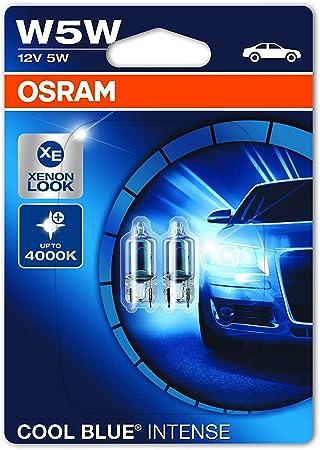 2x Vauxhall Corsa MK3//D Genuine Osram Ultra Life Number Plate Lamp Light Bulbs
