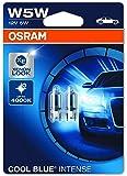 (Double Blister, Cool Blue Intense) - OSRAM COOL BLUE INTENSE W5W halogen, licence plate position light, 2825HCBI-02B…