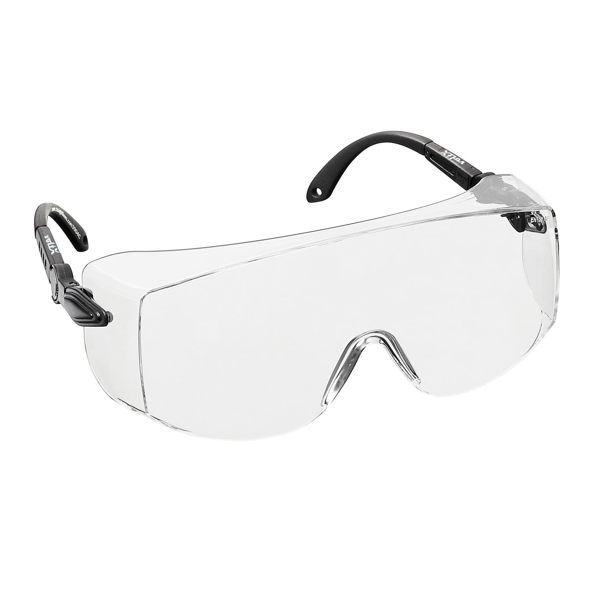 1ef6b1fbd2 voltX 'OVERSPECS' Sobremontura para Gafas de Seguridad Industrial (Lentes  Transparentes) con certificación