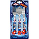 Marvel Ultimate Spider-Man 3 Piece Cutlery Set | Knife, Fork and Spoon