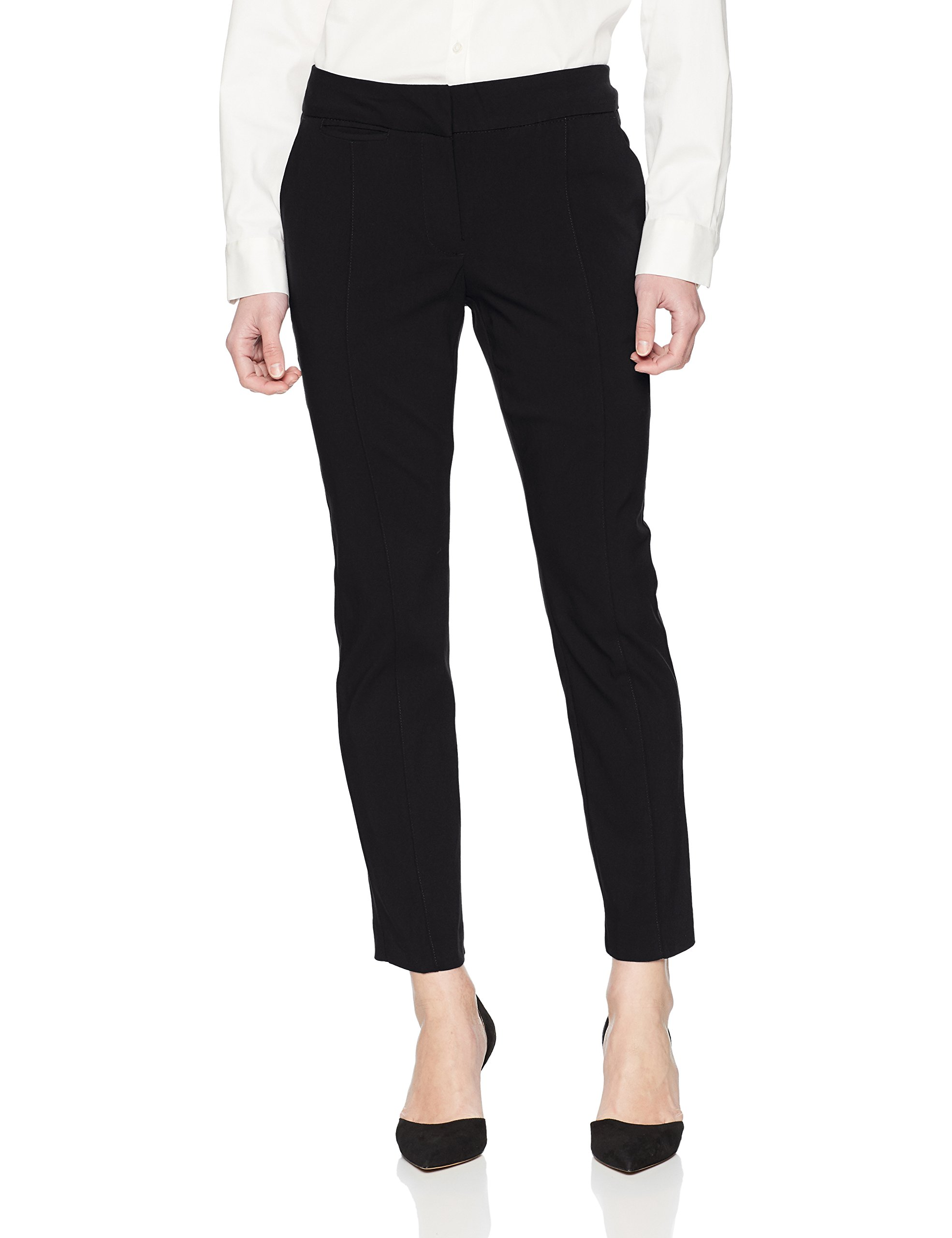 Briggs New York Women's Petite Cigarette Pant, Black, 8P