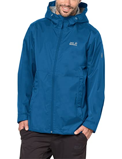 4a6ed621769 Jack Wolfskin Men's Arroyo Jacket, Small, Electric Blue