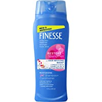 Finesse Restore + Strengthen Moisturizing 2in1 Shampoo + Conditioner, 13 oz (Pack of 6), Moisturize & Repair Dry or…