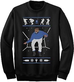 Amazon.com: Hotline Bling Drake Ugly Christmas Sweatshirt Black ...
