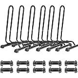 CyclingDeal Adjustable 1-6 Bike Floor Parking Rack Storage Stands Bicycle