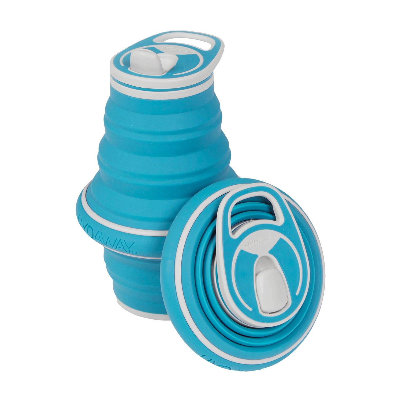 - Hydaway, bottiglia per acqua comprimibile,600ml., Fire 600ml.