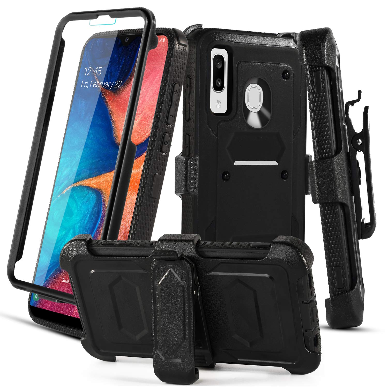 Funda + Vidrio Para Samsung Galaxy A20 / A30 / A50 Con Pie Aetech [7wlnw8nx]