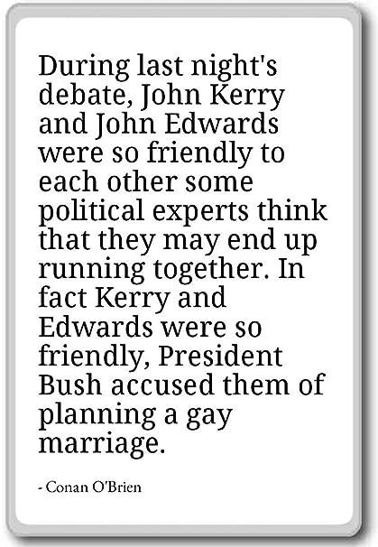 Amazon.com: During last night\'s debate, John Kerry and Jo ...