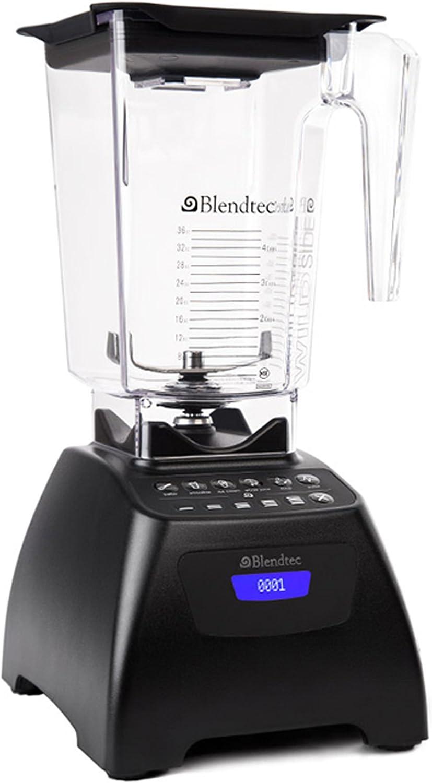 Blendtec 9001828 Signature Series Blender with Wildside Jar, Black