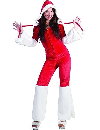 Disfraz traje Mamá Noel mujer - XS: Amazon.es: Juguetes y juegos