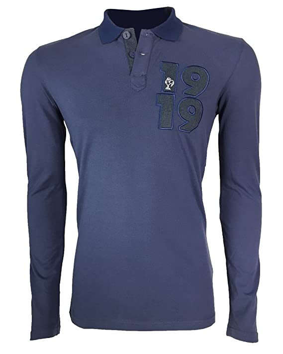 adidas Collegiate FFR-Polo de Manga Larga, Camiseta, Color: Amazon ...
