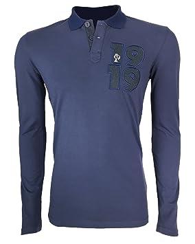 adidas Collegiate FFR-Polo de Manga Larga, Camiseta, Color: Amazon ...