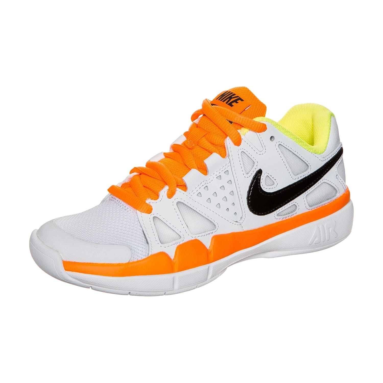 Nike - Air Vapor Advantage Carpet Herren Tennisschuh (weiß Orange),5