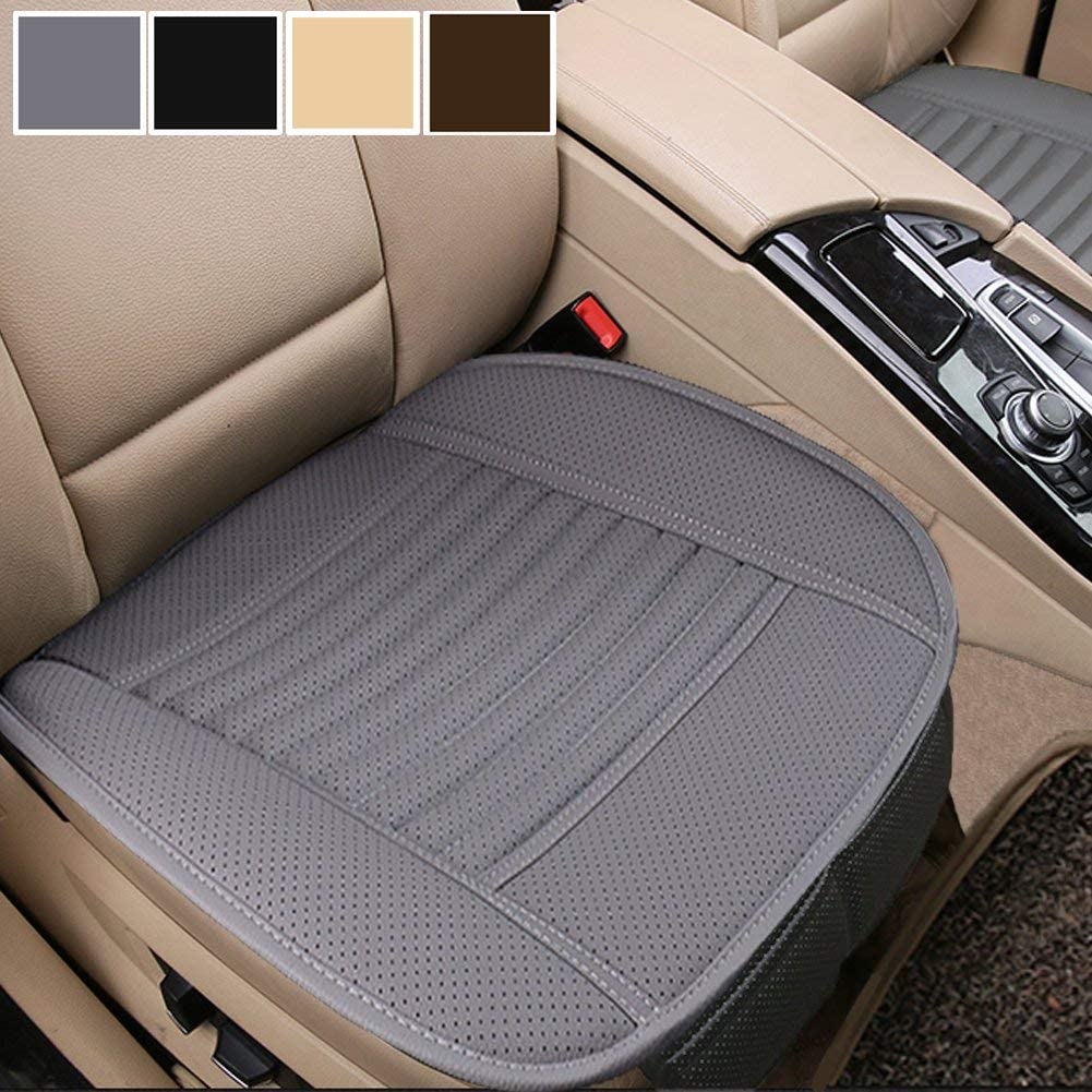 SSANGYONG REXTON FRONT LEATHER LOOK PAIR CAR SEAT COVER SET