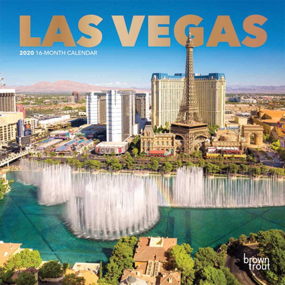 Mini Las Vegas >> Las Vegas 2020 7 X 7 Inch Monthly Mini Wall Calendar With