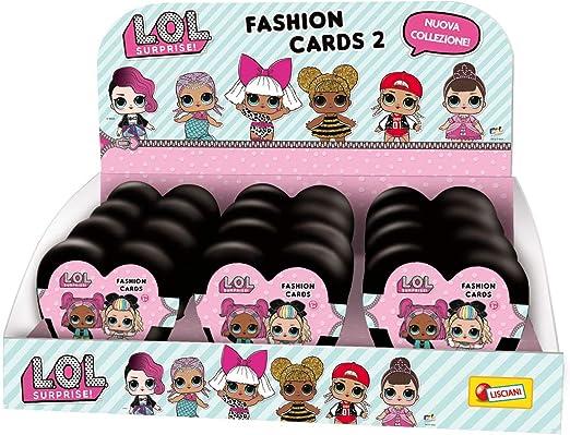 Lisciani LOL Surprise Fashion Cards 73764, Rosa , color/modelo surtido: Amazon.es: Juguetes y juegos