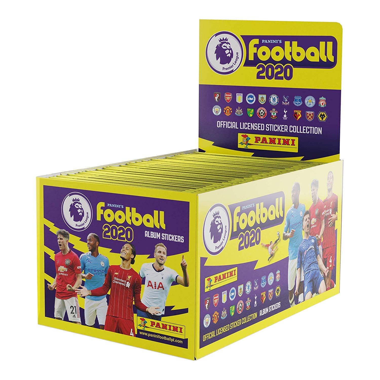 2019-20 Panini Premier League Stickers Starter Pack /& 50-Pack Set Includes Album /& 275 Stickers