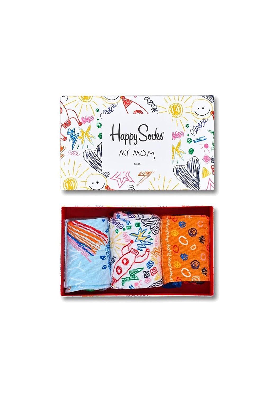 Happy Socks Mothers Day Gift Box, Calcetines Casual para Mujer, Gelb (Gelb 2000), Talla única(Pack de 3): Amazon.es: Ropa y accesorios
