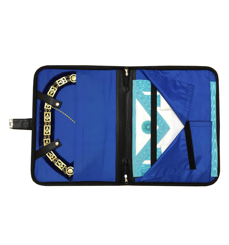70%OFF Masonic Regalia Smart Briefcase for apron and chain collar soft handle Black MB014
