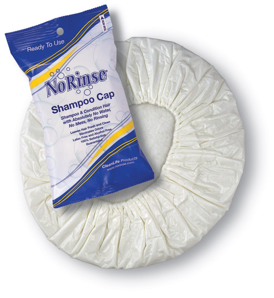 ALIMED 77803 No Rinse Shampoo Caps Case of 30