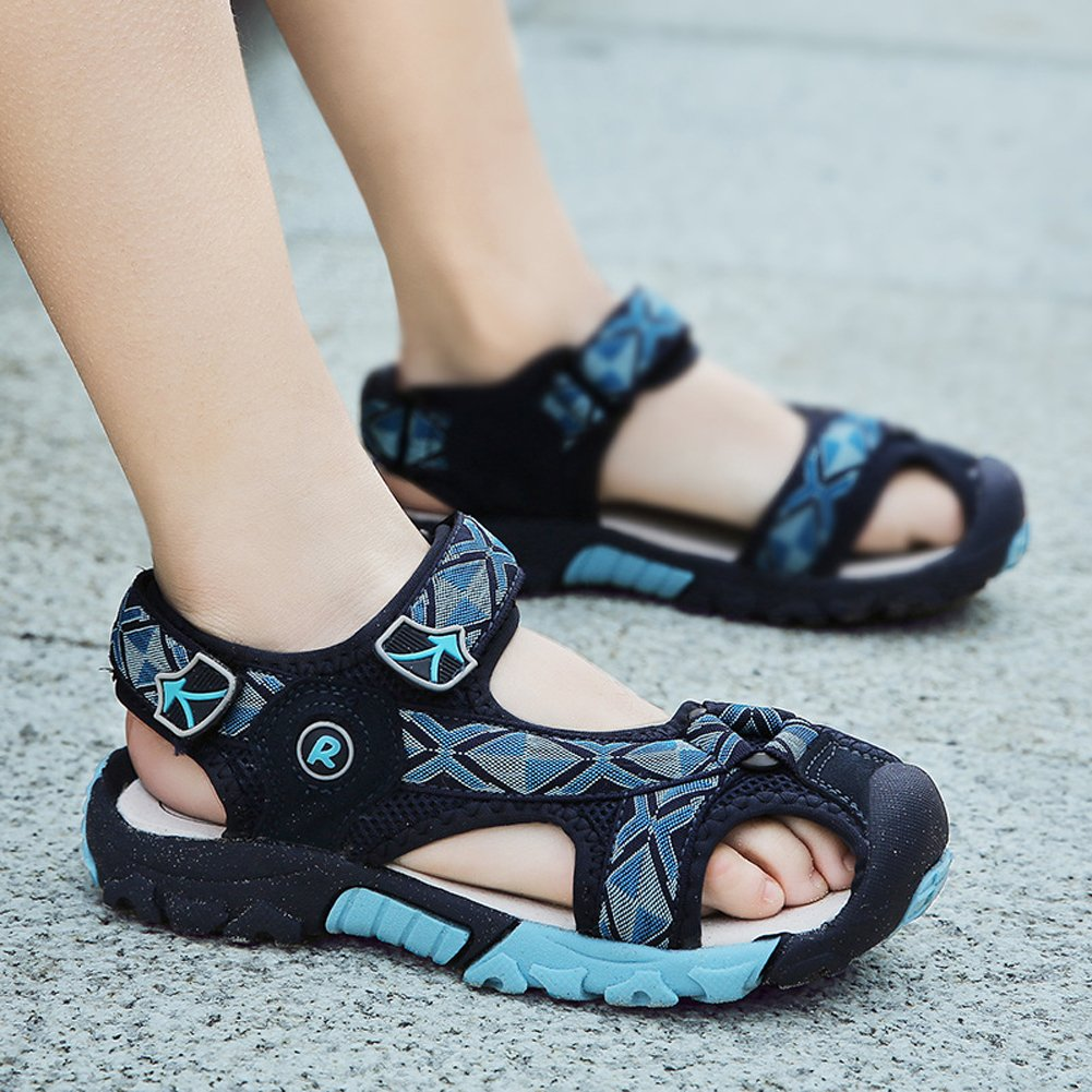 Toddler//Little Kid UBELLA Boys Girls Outdoor Athletic Closed-Toe Strap Sandals