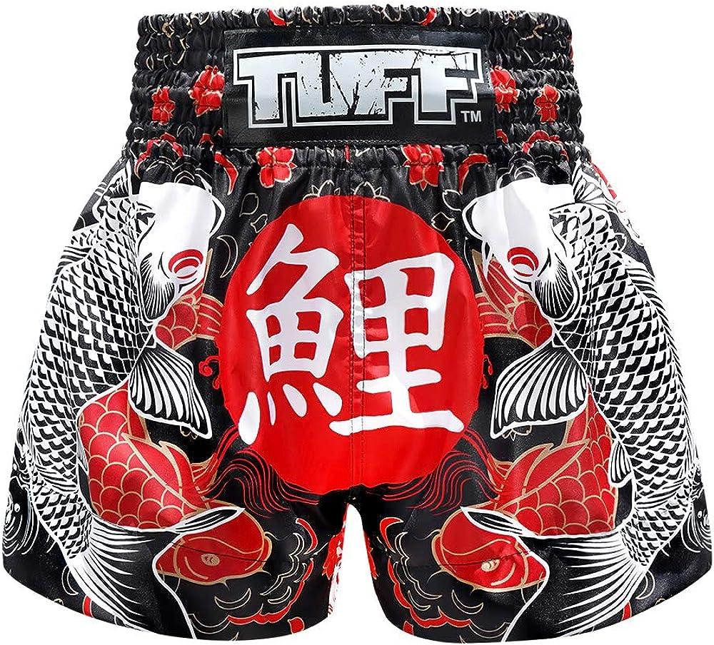Tuff Boxing Sport Muay Thai Shorts Trunks Kick Martial Arts Training Gym Clothing : Clothing