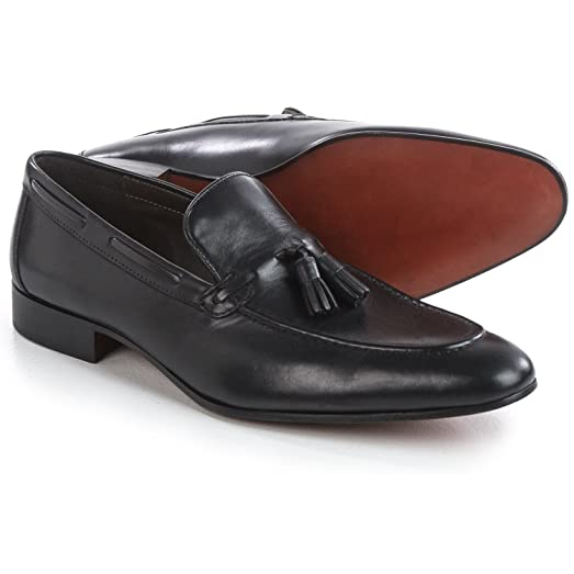 Basic Tassel Loafers - Leather (For Men) Size 8