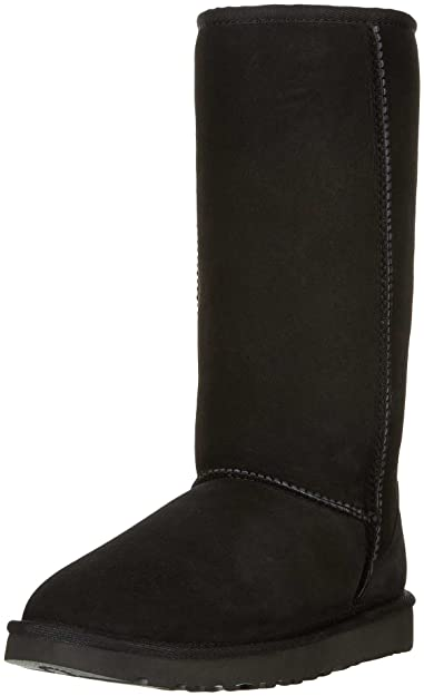 UGG Women's Classic Tall II Winter Boot, Black, ...