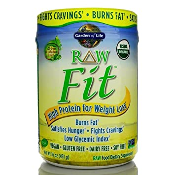 Amazoncom Garden of Life RAW Fit Protein 16 oz Health