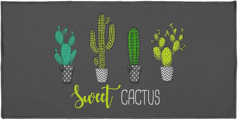 douceur dint/érieur tapis rectangle 57x115 cm sweet cactus