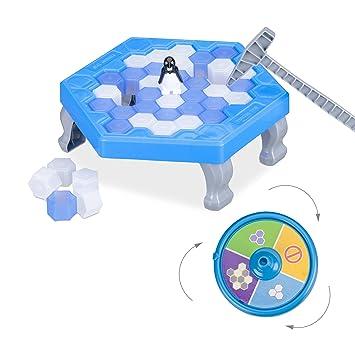Relaxdays 10024988 Save The Penguin - Mochila para niños (a Partir ...