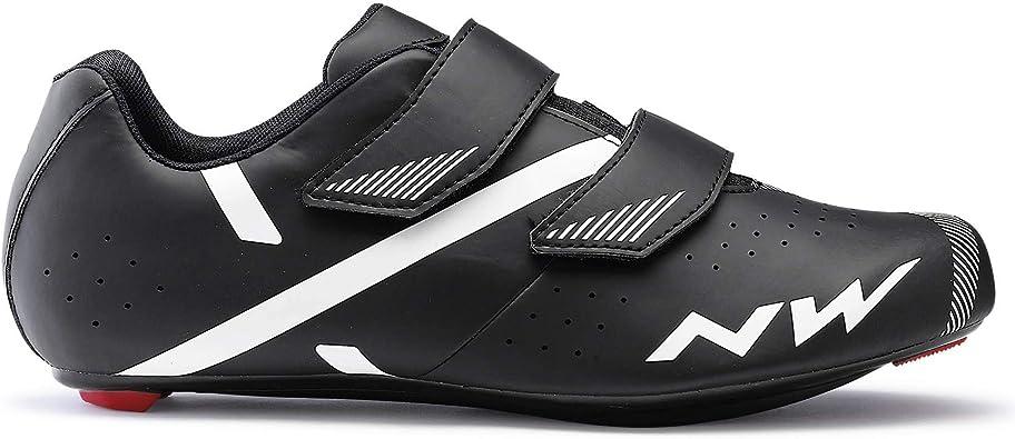 Northwave Jet 2 2021 - Zapatillas para bicicleta de carretera, color negro y blanco: Amazon.es: Zapatos y complementos