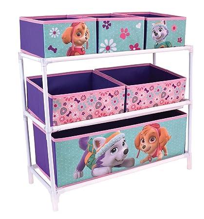 Fun House 712746 estantería con 6 Compartimentos para niño ...