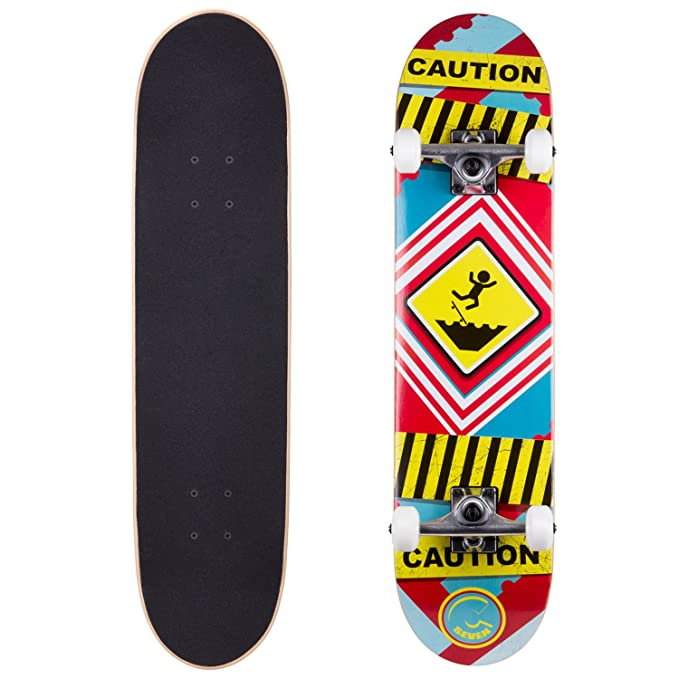 Review Cal 7 Complete Skateboard,